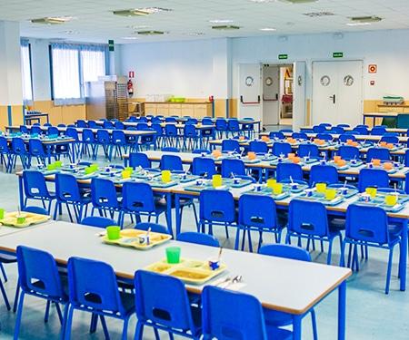 Comedor en el colegio: Beneficios y servicios
